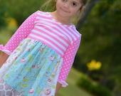 2y *hazel* 3/4 sleeve dress