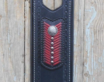 Indian Motorcycle Leather Tank Panel, Strap 2014-2016 Chief, Chieftain