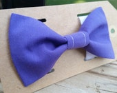 Purple Bow Tie for dogs cats Pet Collar bowties weddings photography pets dog bows 1/2 OFF SALE