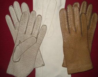 Vintage Gloves Lot of 6