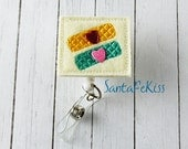 Bandaids with Hearts Nurse Badge Reel