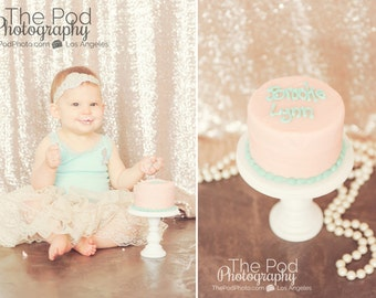 "5"" mini cake stand smash cake pedestal photo prop cupcake stand 4x5"