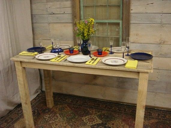 Farmhouse counter height table 65 x 30 x 36 by for 65 farmhouse table