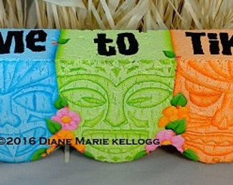 E16016 Time to Tiki! Pattern Packet from Oil Creek Originals