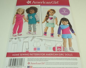 "Simplicity American Girl 18"" Doll Clothes Pattern 8042 One Size"