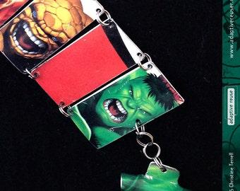 Even More Marvel—Upcycled Tin Bracelet