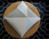 Geometric Throw Pillow - PINWHEEL- 24 inch - In Stock!