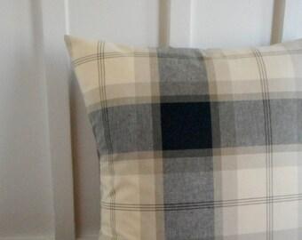 pillow cover cushion cover autumn pillow plaid