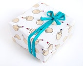 Funny Gift Wrap - Middle Finger - Mature