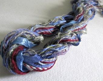 Fibers Lot - Dreamcatcher Supplies  - Trending Crafts - Knitting - Crochet - Yarn Lot - Craft Supplies -Altered Art - Pocket Letter Supplies
