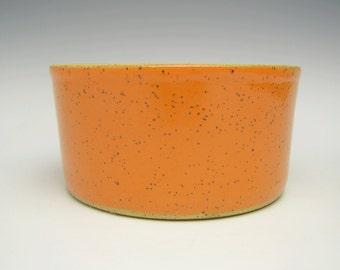 Contemporary ceramic planterSucculent pot Modern Planter Stoneware planter pottery Bonsai planter orange herb pot 5 1/2 x 3 e2