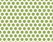 50% OFF The Good Life Dots Green - 1/2 Yard