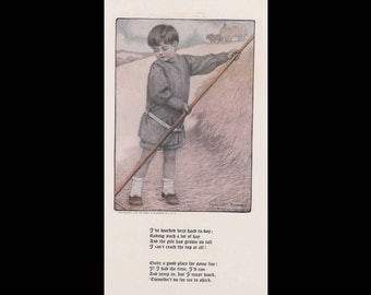 Burr McIntosh Monthly Magazine Print - Marguerite Downing Print c. September 1908