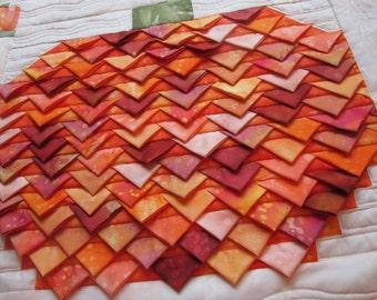 3-D Patchwork Pumpkin pattern