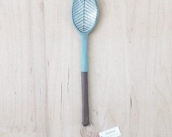 ceramic spoon.