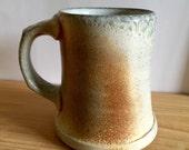 Wood Fired Mug, wheel thrown stoneware