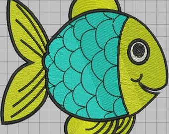 Fishy Fish Embroidery Design Collection