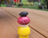 Vintage Fisher Price Roosevelt Franklin Little People Sesame Street Muppets Toy Figure