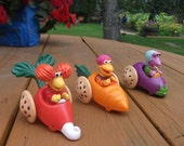 1988 McDonalds Muppets Fraggle Rock Toy Figures