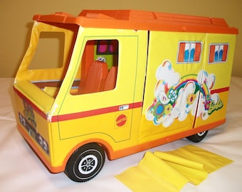 Vintage Barbie Country Camper 1971 Camping Toy for Girls