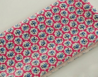 4090 - Cath Kidston Provence Rose (Hot Pink) Oilcloth Waterproof Fabric - 28 Inch (Width) x 17 Inch (Length)