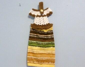 Crochet Top Hanging Kitchen Towel Dress Towel