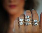 Zodiac Rings, Astrology Jewelry, Zodiac Jewelry, Sterling Silver Astrological Sign Jewelry, Horoscope Jewelry, Horoscope Sign Jewelry Rings