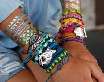 Teen Jewelry, Teen Bracelet, Best Teen Girl Gift Idea, Jewelry Bracelet, ONE Fish Wrap Bracelet for Teenage Girls, Best Teen Girl Gift Idea