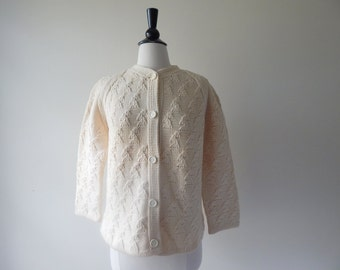 RARE Martha Boutique Made In Italy Wool Cardigan