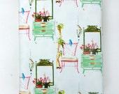 Gift Wrapping Paper, Gift Wrap, Wrapping Paper, Chinoiserie, Sketch of Interior, Interior Design, Chinoiserie Gift Wrap