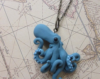 Ebb and Flow- Octopus pendant
