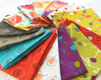"Fat Quarter Bundles ""Annaluna"" Collection By Hoodie Crescent for Stof Fabtics"