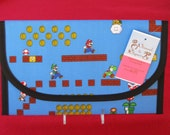 Nintendo Super Mario Game Diaper and Wipes Case Holder Clutch