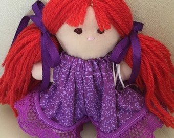 Doll - My First Doll Red Hair with Brown Eyes