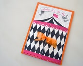 French Circus Invitation, French Circus Party, Adult Circus Tent, Customizable