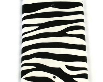 Blank Light Switch Cover Switchplate   Funky Switch Plate    Zebra  (086B)