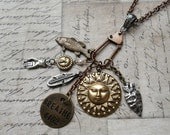 HUGE SALE BREATHE Meditate, Rejuvenate, & Friendship Talisman Charm Necklace For The Naturalist, Lover Of Outdoors, And Promotion Of Peace