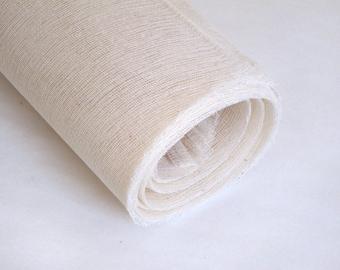 Super Cloth - 18 x 30 Inch - Crash - Mull - Tarlatan - Bookbinding - Printmaking