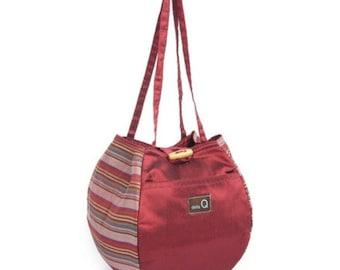 dellaQ Rosemary Knitting Bag: Beautiful, Practical Small Project Bag