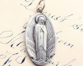 Our Lady of Wings - Pilots and Flight Attendants Medal - Antique Reproduction