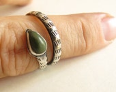 Vintage Snake Ring - sterling silver native american style