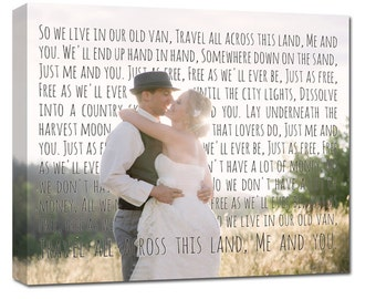 Bride and Groom Photo Ideas | Your Photo Words Wedding Art , Engagement,  Anniversary Just Married, Personalized Couple Gift, Him or Her