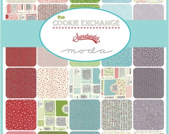 SALE!!!  Cookie Exchange by Sweetwater Fat Quarter Bundle - 33 FQ's