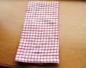 Two custom towels
