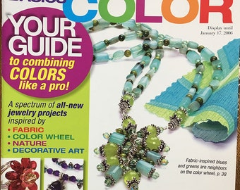 Bead Style Magazine Special Issue Beading Basics Color Using the Color Wheel 2005 Issue