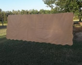 Vintage Tablecloth Harvest Gold Tablecloth FALL Table Cover Rustic Farmhouse Table Decor Thanksgiving Tablecloth 50x68