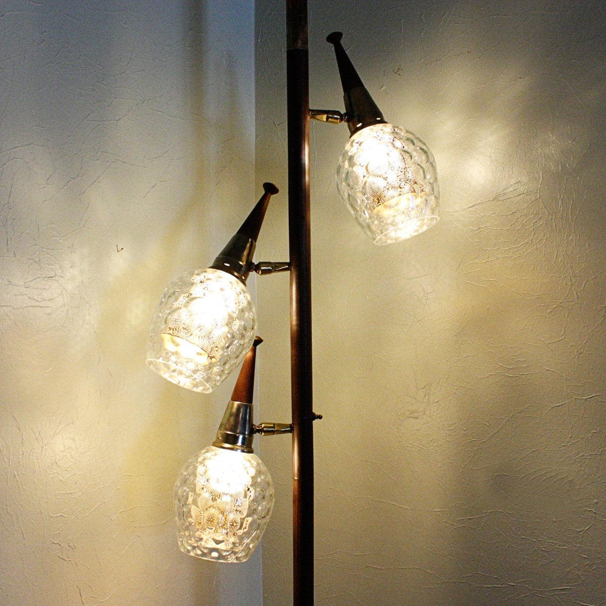 Vintage Pole Lamp Tension Lamp Floor To Ceiling By