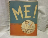 1944 Softcover Copy of Me! -And How I Grew! Baby Book