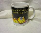 1989 Hallmark Cat Mug