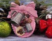 Milk and Cookies Miniatures Brooch